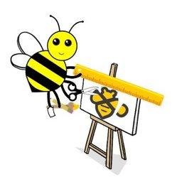 Meta bee logo